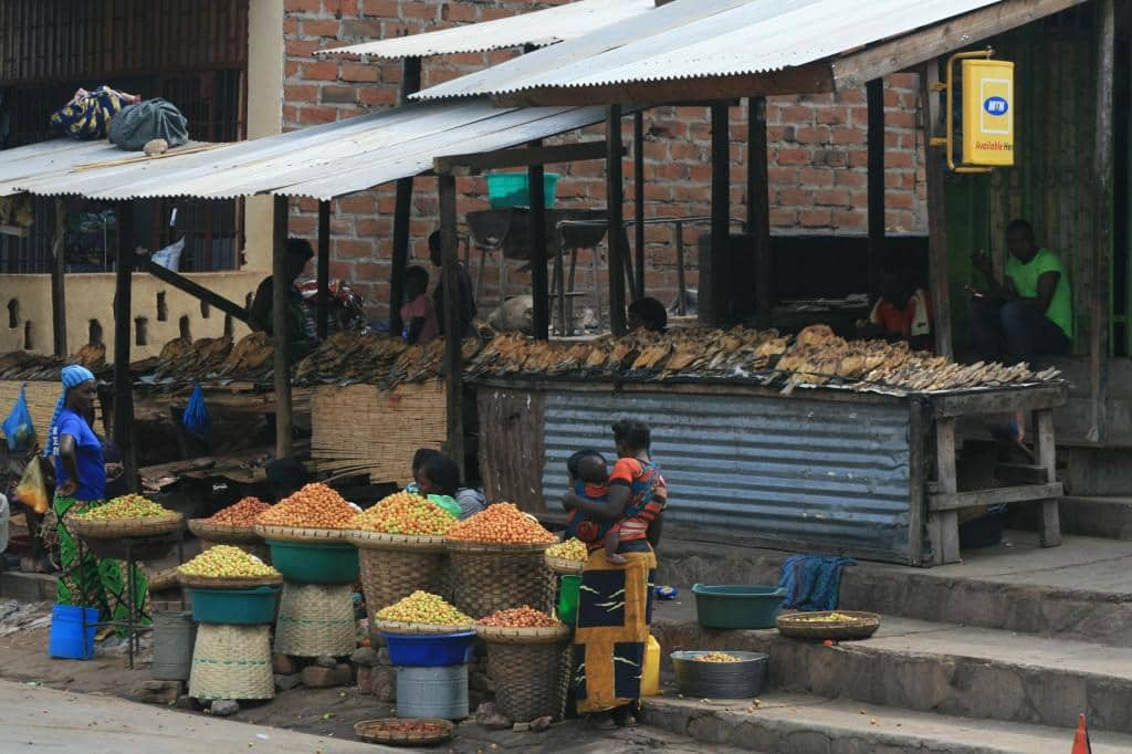 Even the informal markets and street vendors sell airtime.