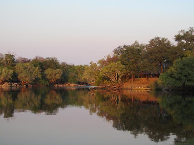 Mayukuyuku Camp on the Kafue River. (Photo: Karin Theron)