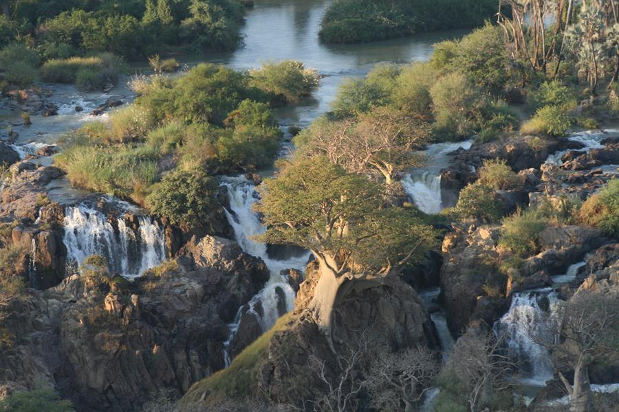 Epupa Falls is quite spectacular after good rains. (Photo: Johann Groenewald)