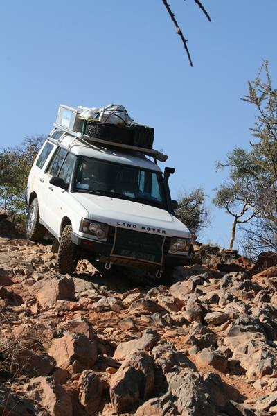 Van Zyl's Pass is extremely challenging. (Photo: Johann Groenewald)