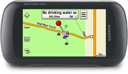 With a GPS you can navigate to your exact destination as long as it doesn't loose satellite signal or power.