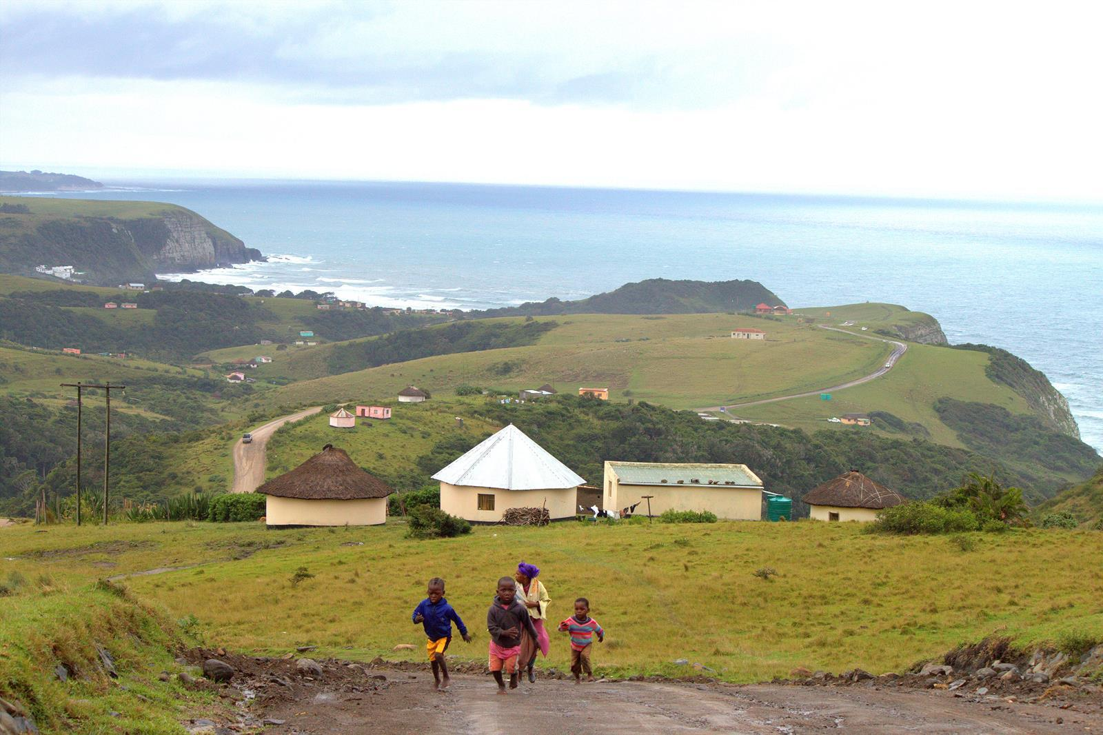The rolling hills of the Transkei.