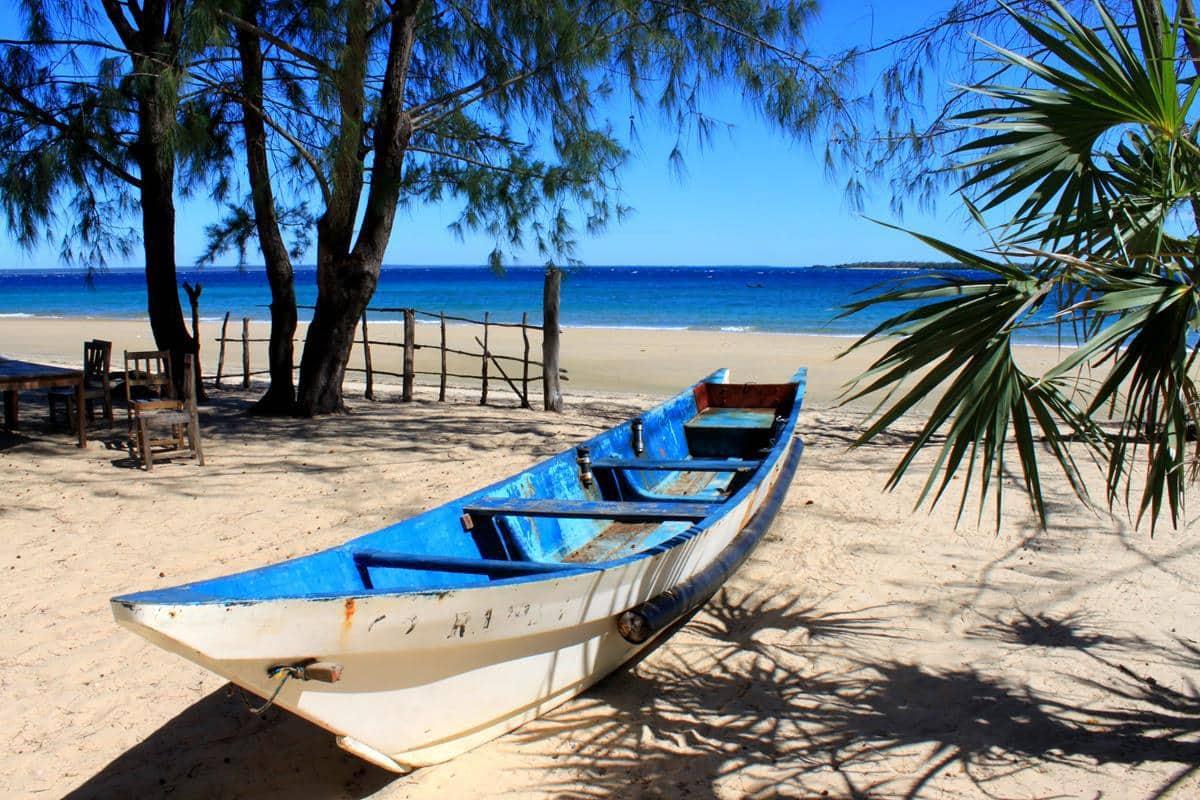 Ruvula campsite in the Ruvuma Mnazi Bay Marine Reserve.