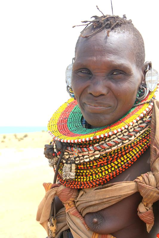 Turkana woman.