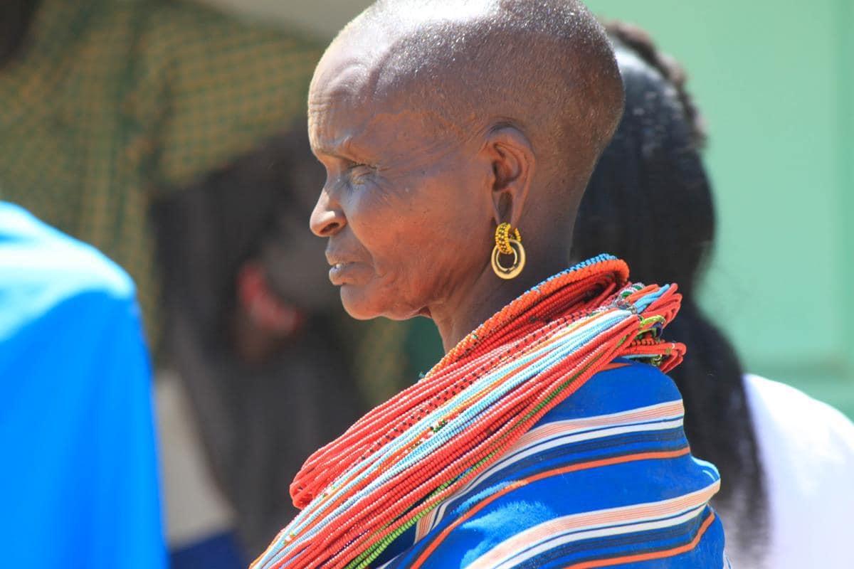 A Samburu woman.