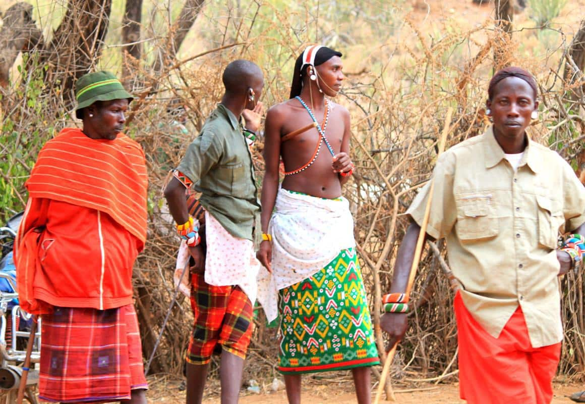 Samburu people in South Horr.