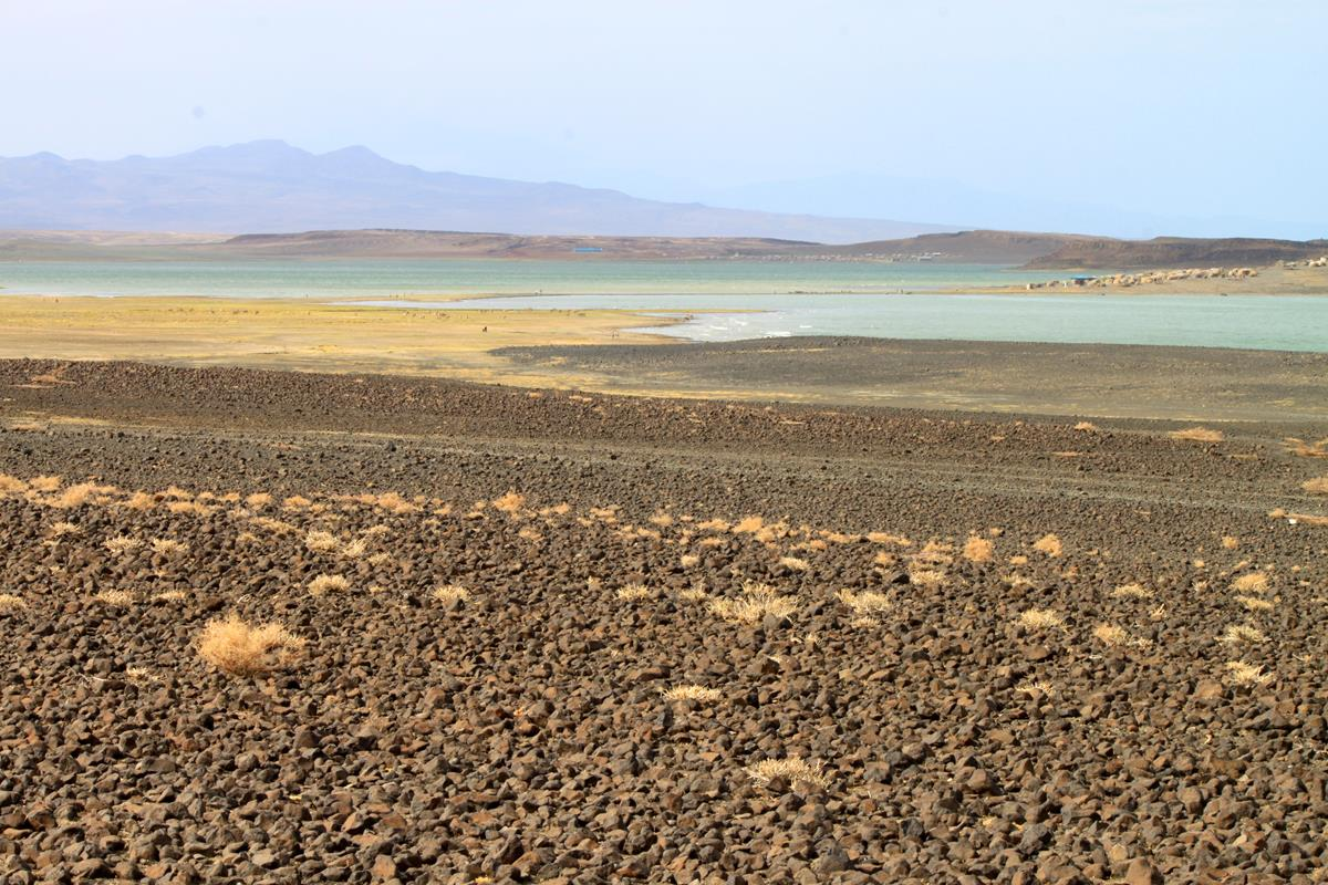 Soft hues softens the harsh conditions of Lake Turkana.