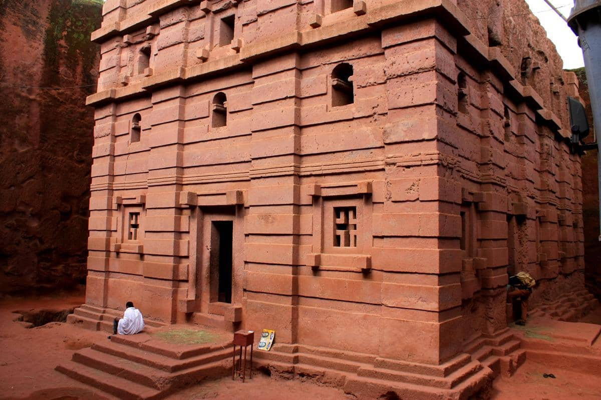 Lalibela's rock hewn- churches are one of the man-made wonders of the world.