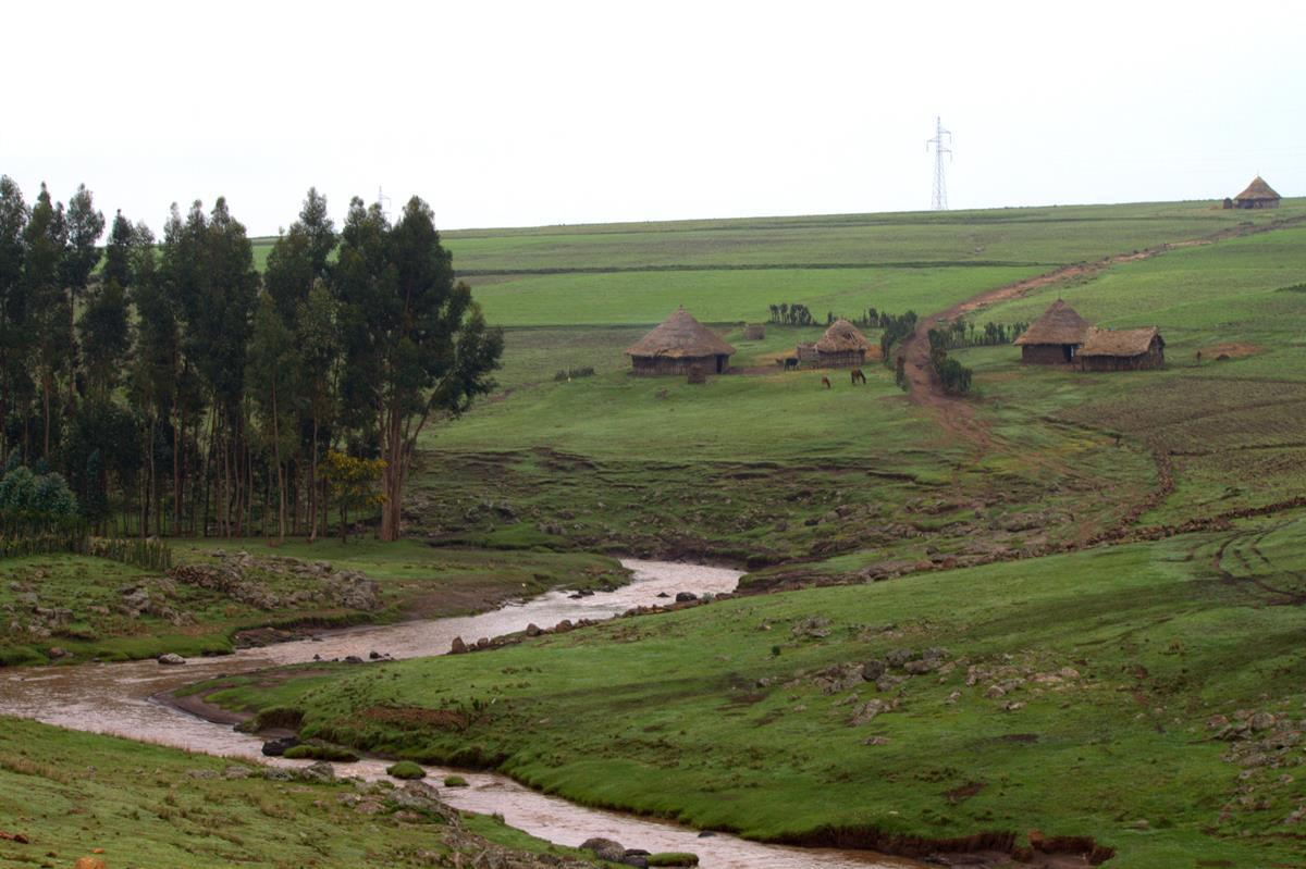 Rural Ethiopia is absolutely picturesque.