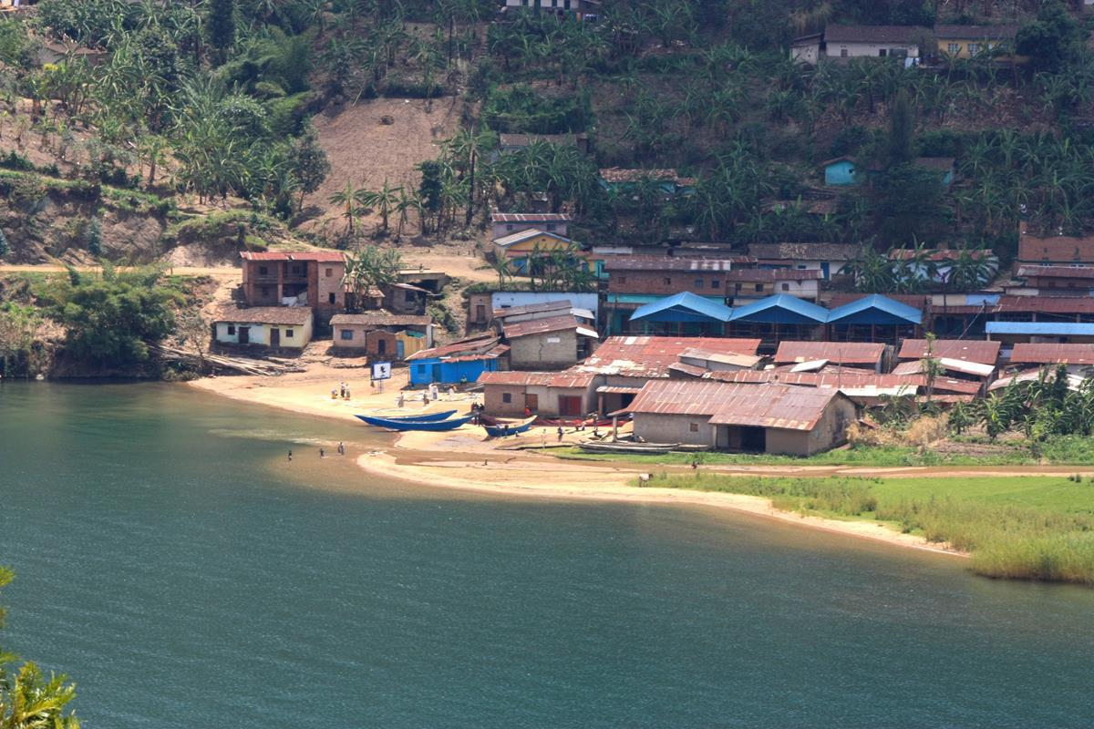 The quaint Nkora Fishing Village.