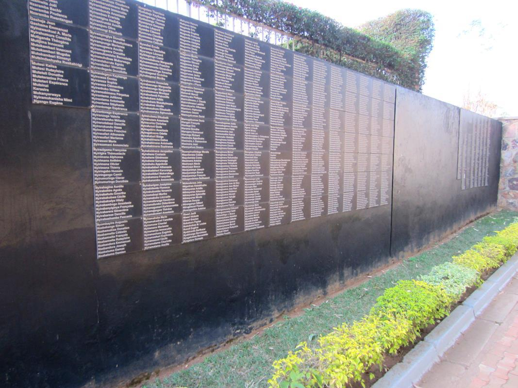 About 250 000 victims of the genocide are buried in Kigali at the Genocide Memorial.