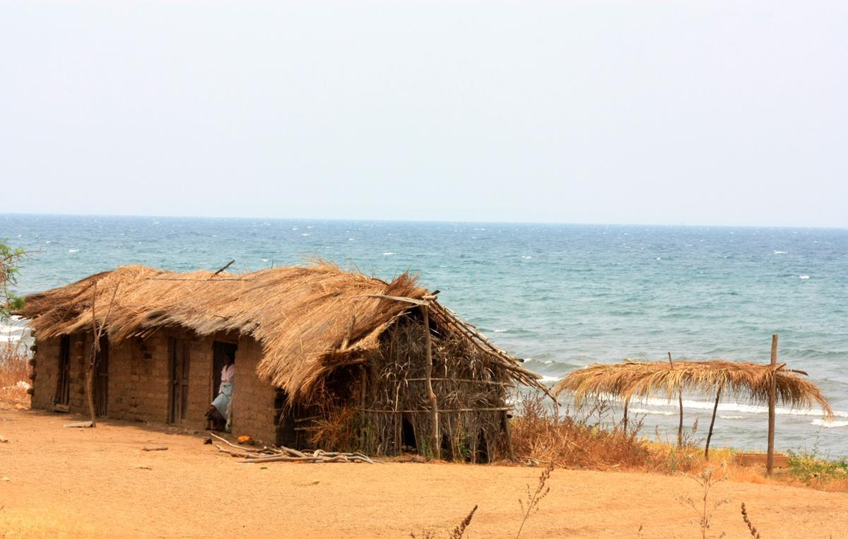 A glimpse of Lake Tanganyika.