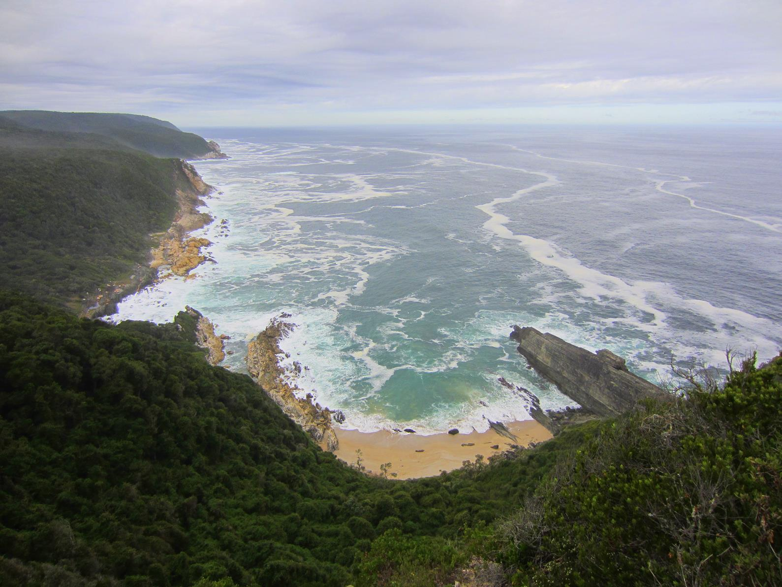 Bloubaai seen from the top.