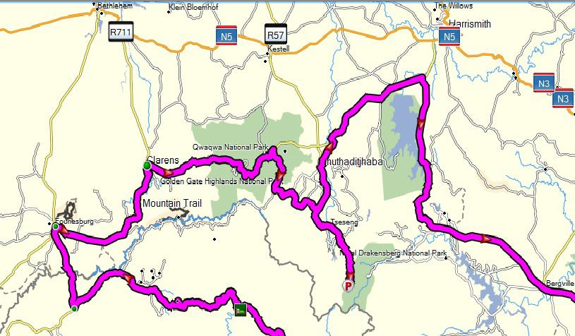 How to plan your route Tracks4Africa Blog