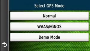WAAS setting
