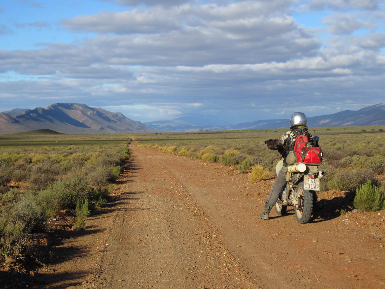 The Anysberg Nature Reserve is biker friendly.