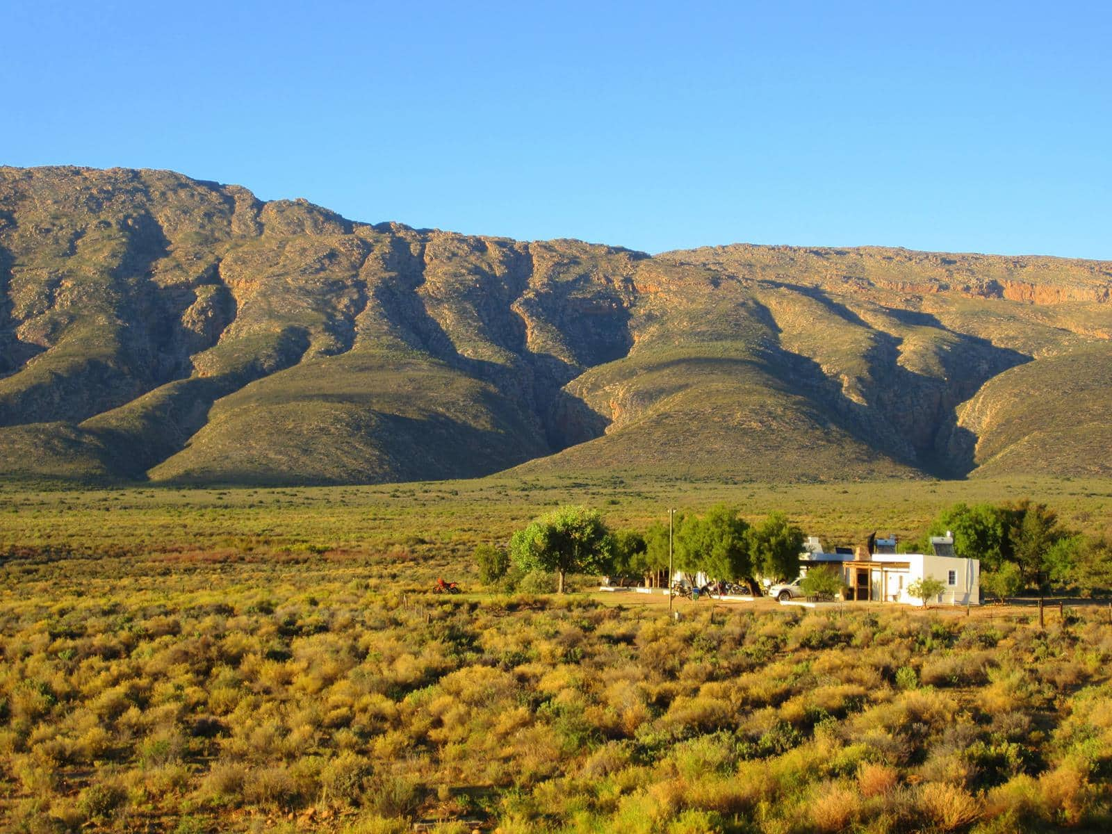The self-catering cottages are very comfortable and have a lovely setting.