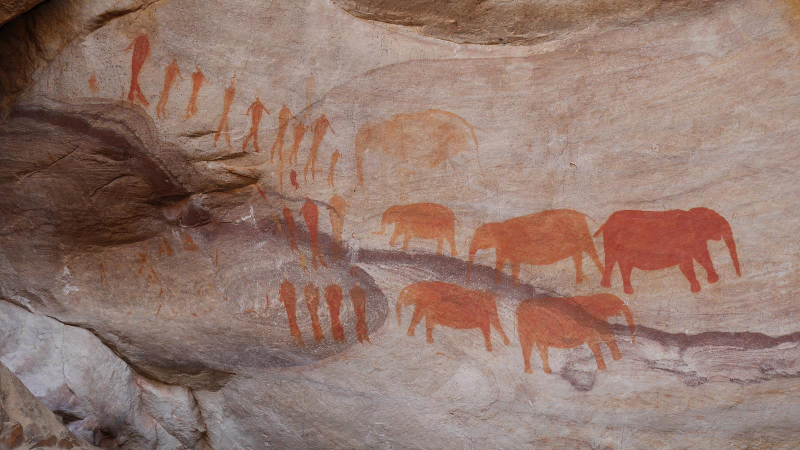 Some of the rock art of the Cederberg.