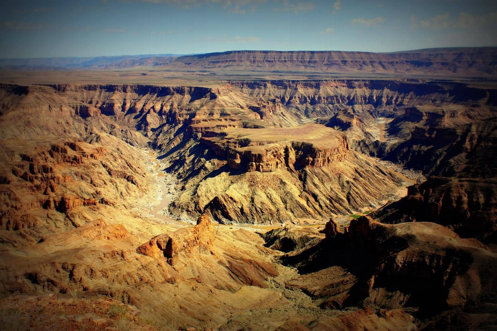 The majestic Fish River Canyon.