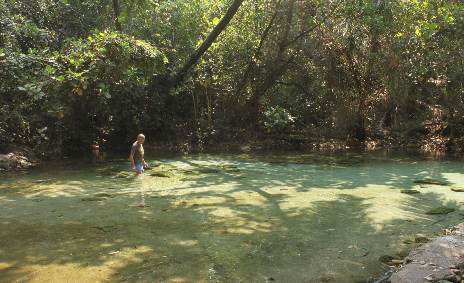 The Kapishya Hot Spring.