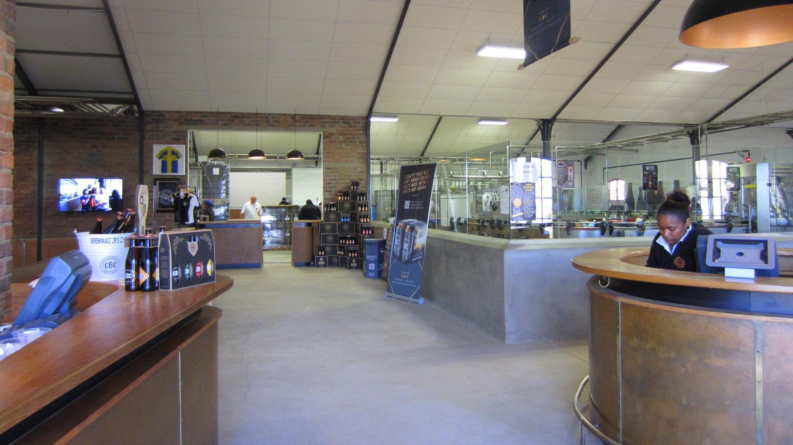 At the Cape Brewing Company you can see how different beers are crafted.