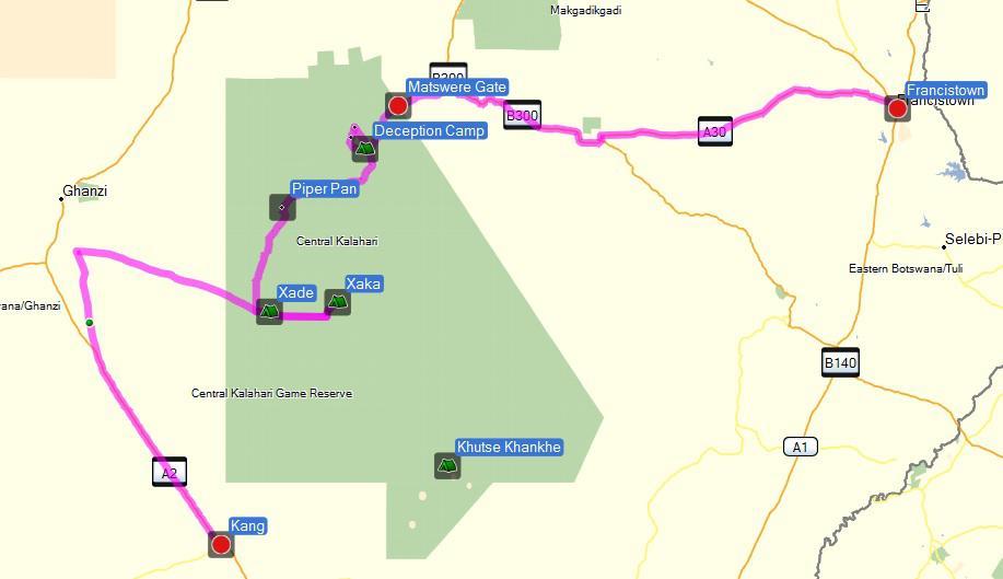 central-kalahari-map