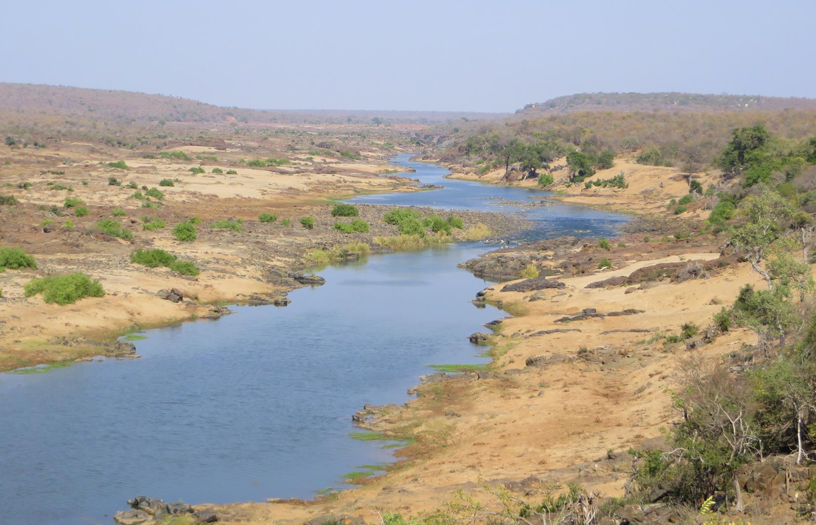 View of the Olifants River.