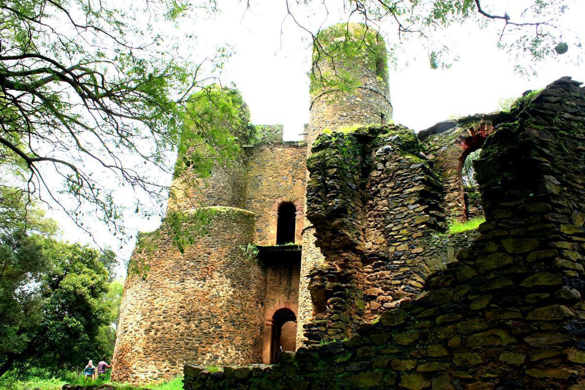 Some of the old Gonder castles.