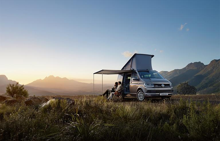 The Volkswagen California campervan. (Photo: Volkswagen)