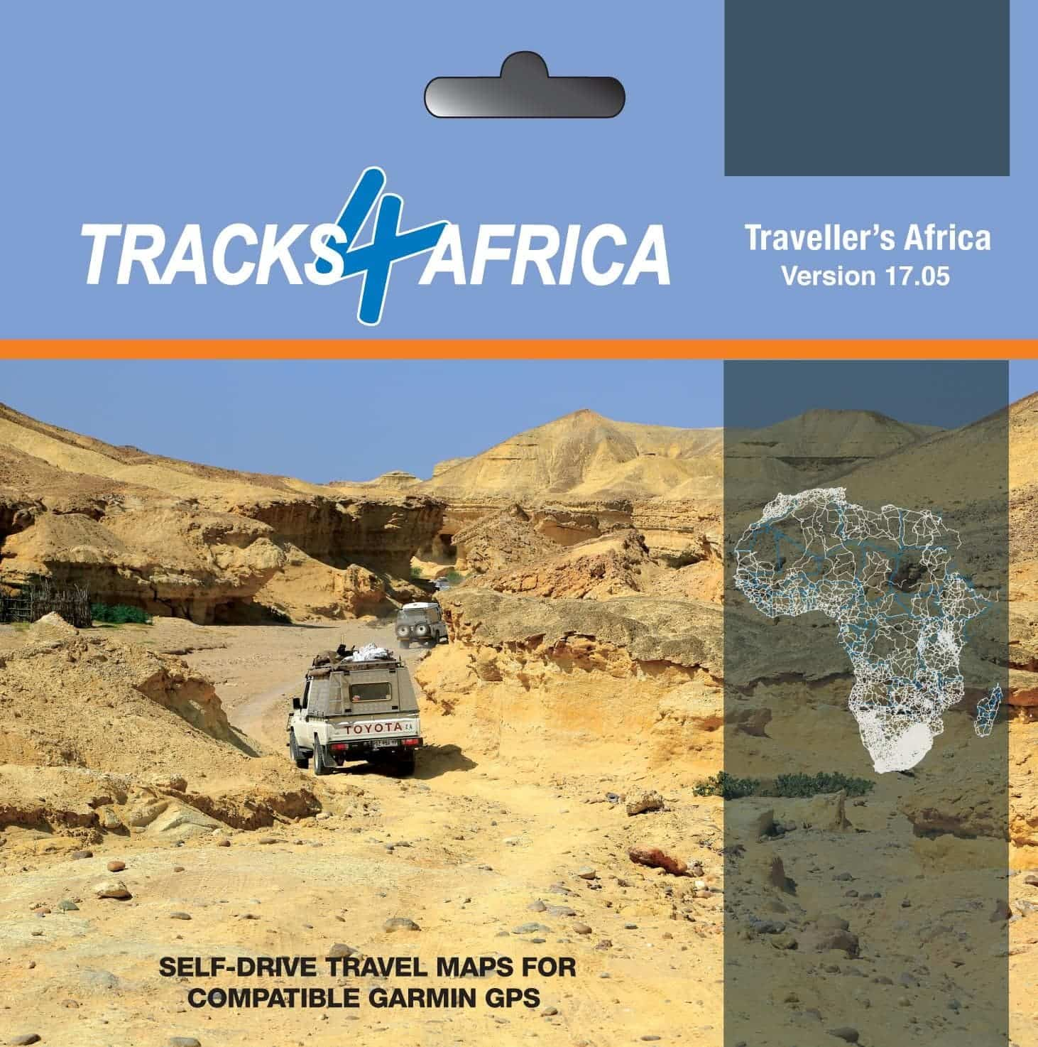 Tracks4Africa Traveller's Africa GPS Map: May 2017 update