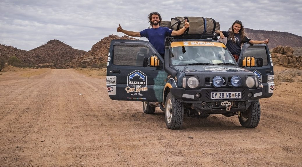 Meet Team Tane: a couple on the road in Africa