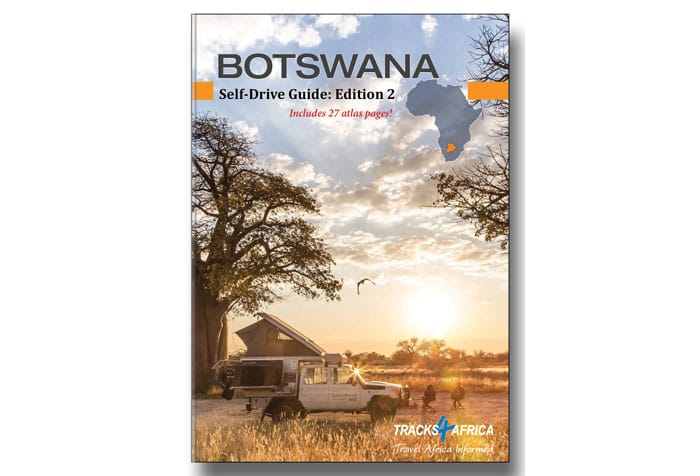 Botswana self-drive guide book