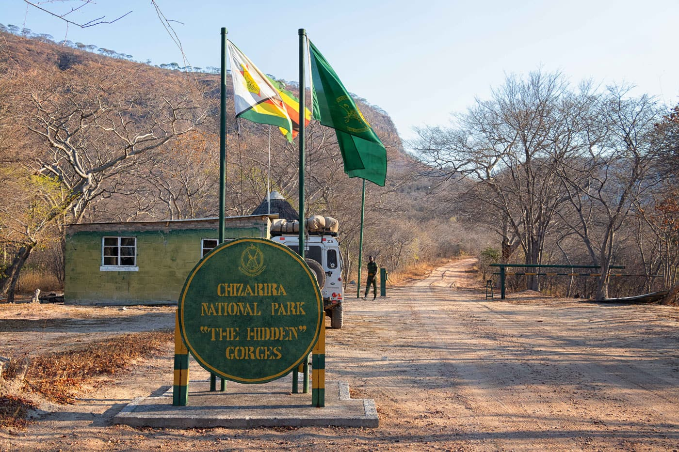 Johann Groenewald - Chizarira National Park - Entrance Gate