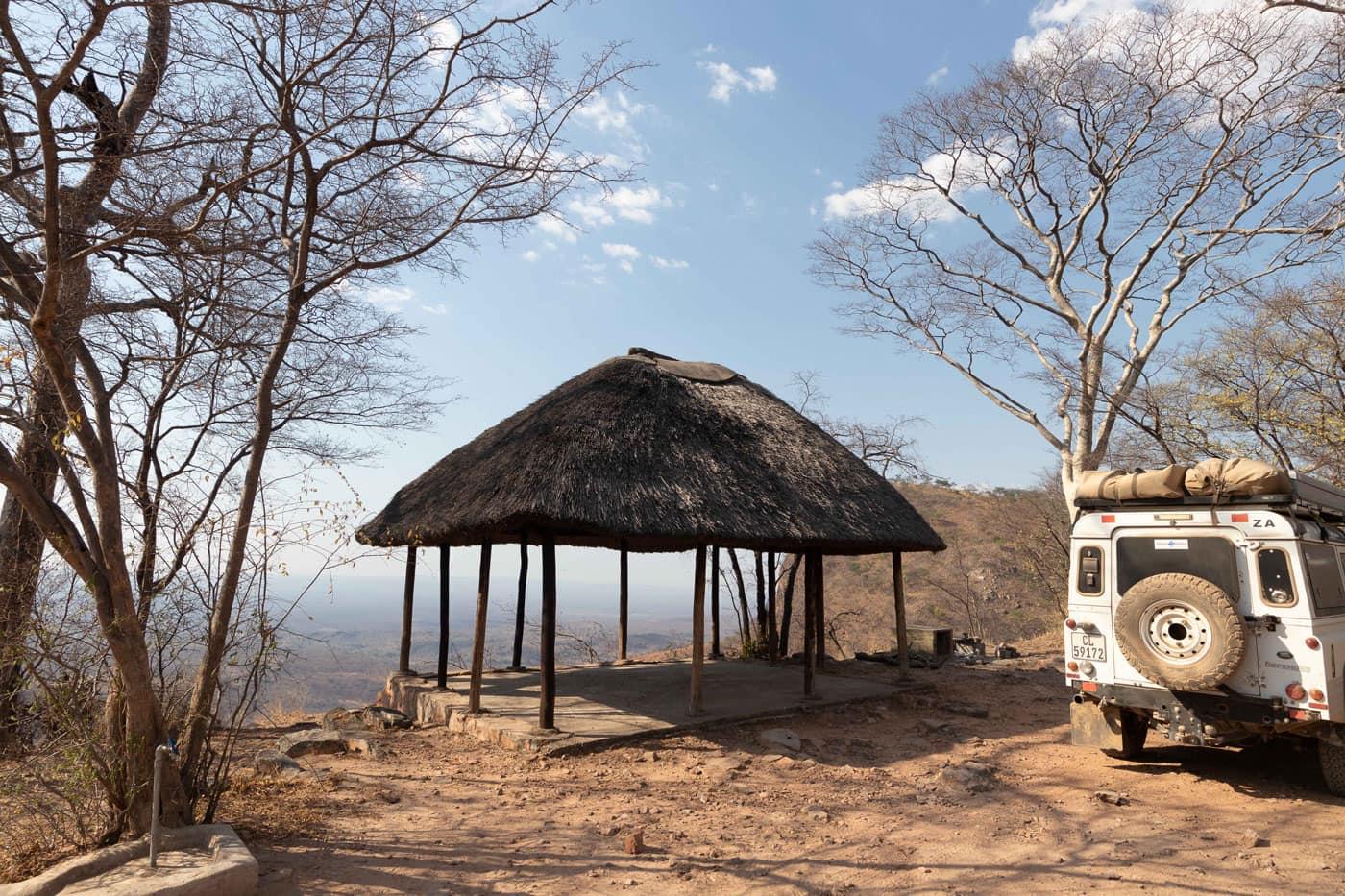 Johann Groenewald - Chizarira National Park - Mucheni View Campsite