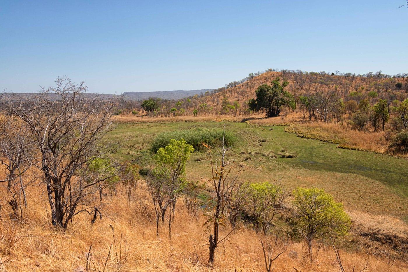Johann Groenewald - Chizarira National Park - View from Platform Camp