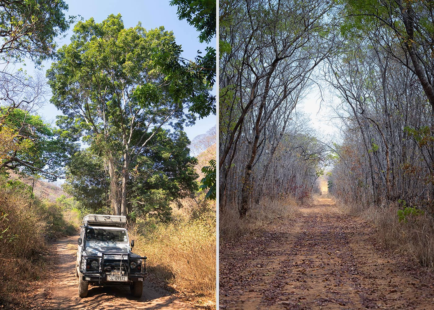 Johann Groenewald - Chizarira National Park - newly graded roads
