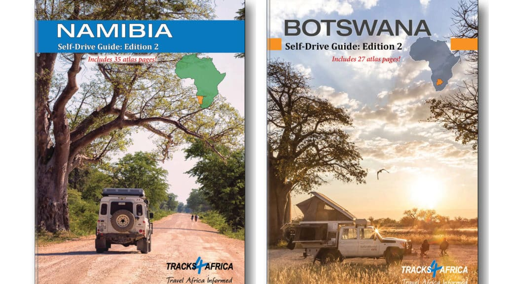 Namibia & Botswana Self-Drive Guide Books - Edition 2