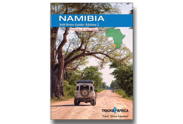 Namibia self-drive guide book
