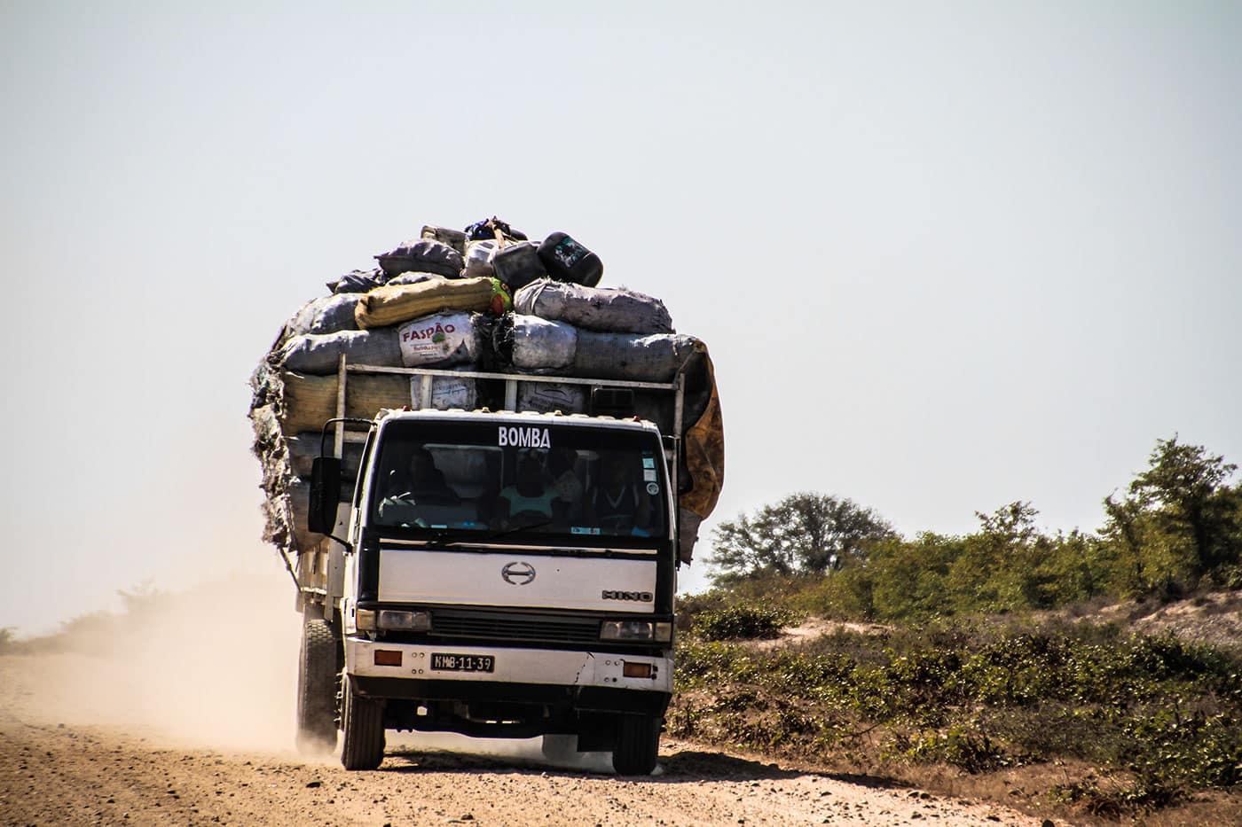 Maputo to Gonarezhou