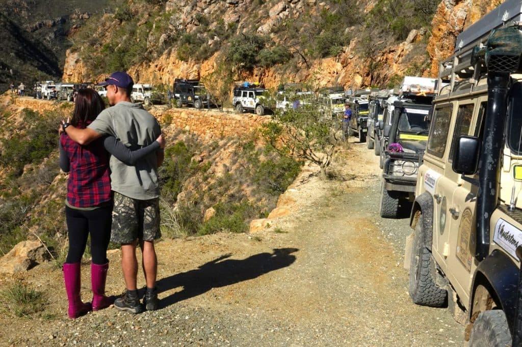 Defender Trophy - Convoy travel