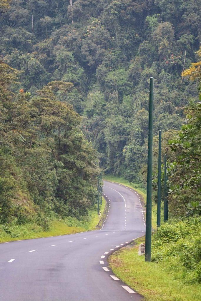Roads in Rwanda