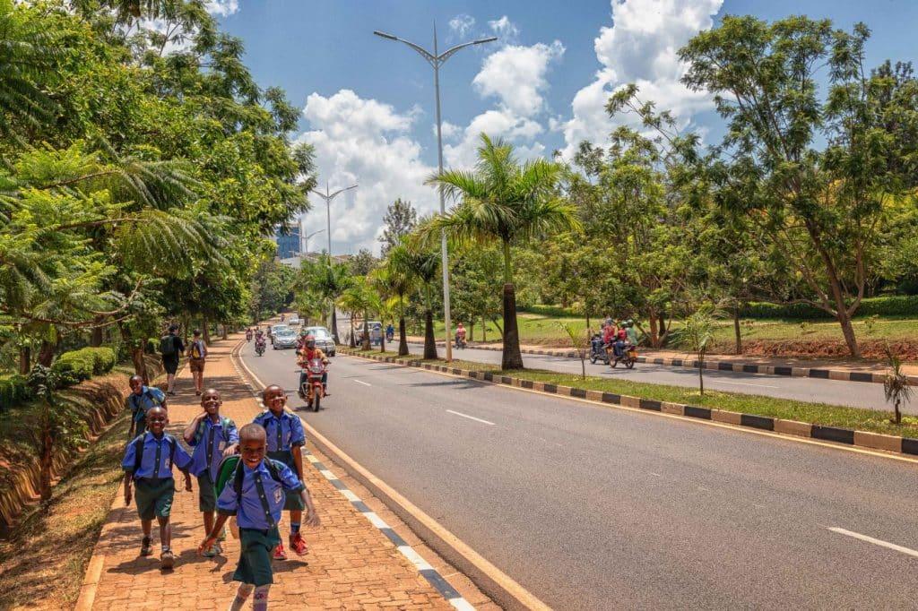 Kigali Cityscape - Johann Groenewald