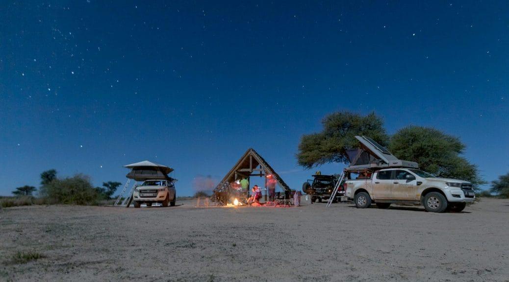 Mabuasehube campsite