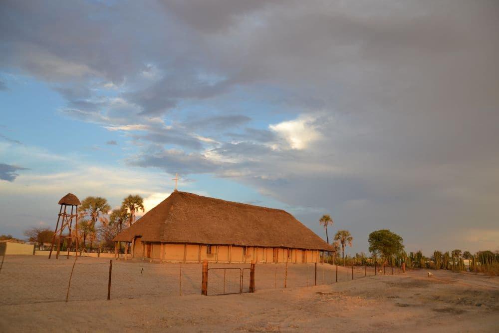 A century-old church in Olukonda