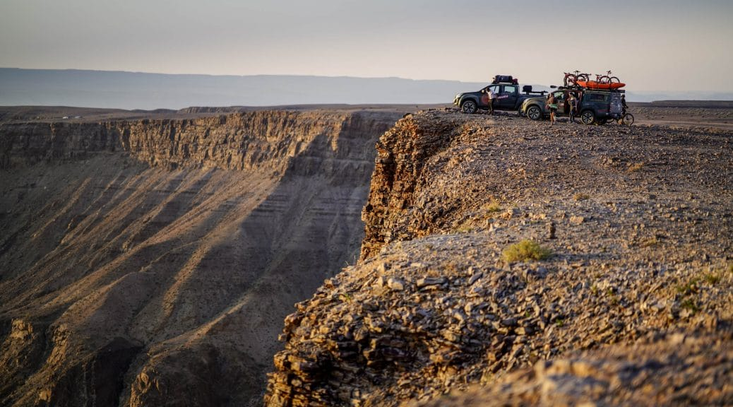 Views over the Fish River Canyon