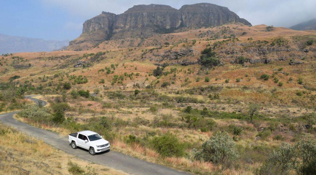 driving in Drakensberg