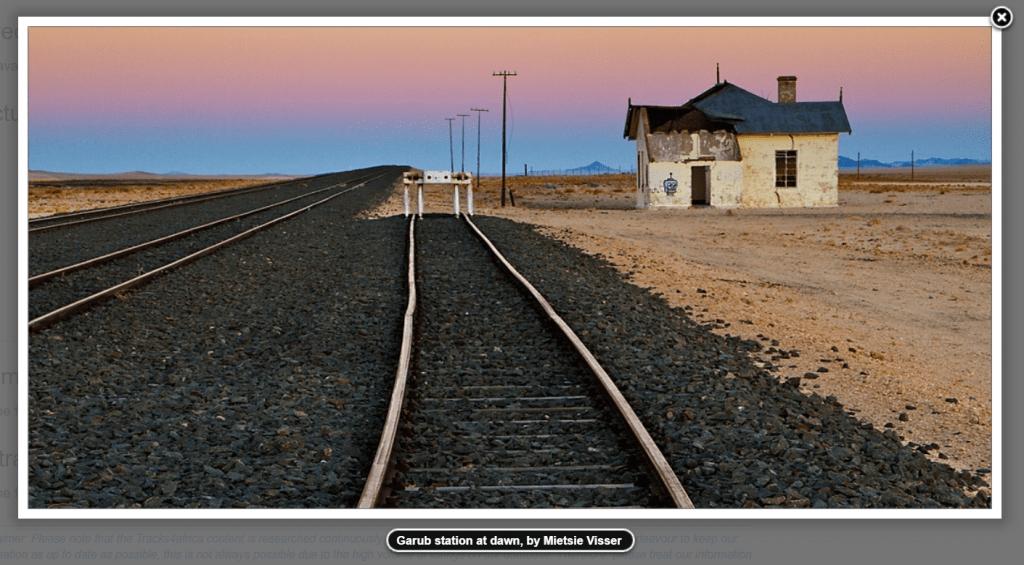 Garub Station by Mietsie Visser